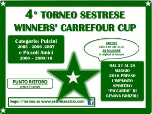 4° TORNEO SESTRESE WINNERS' CARREFOUR CUP