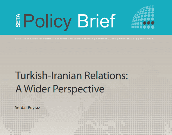 Turkish-Iranian Relations: A Wider Perspective