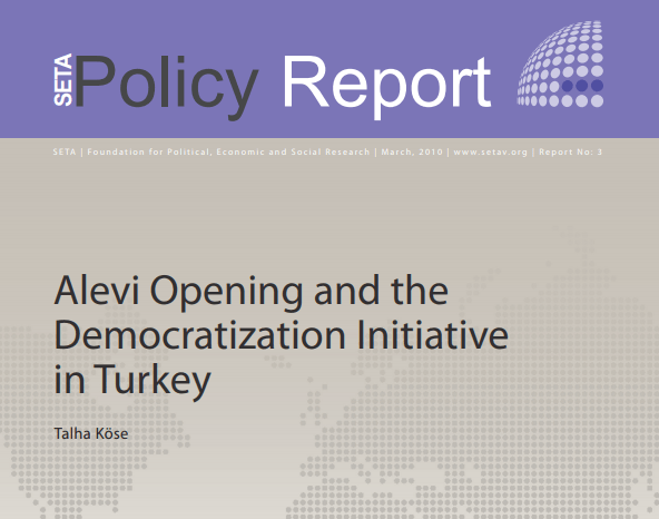 Alevi Opening and the Democratization Initiative in Turkey