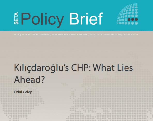 Kilicdaroglu's CHP: What Lies Ahead?