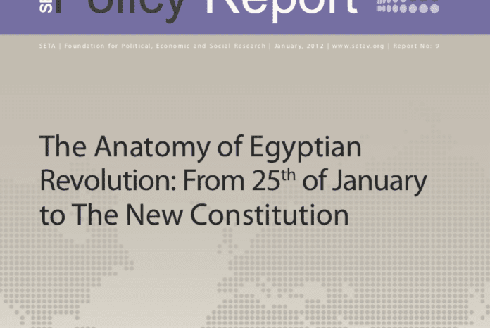 The Anatomy of Egyptian Revolution: From 25th of January to the New Constitution