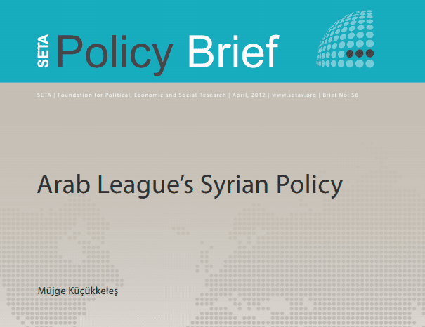 Arab League's Syrian Policy