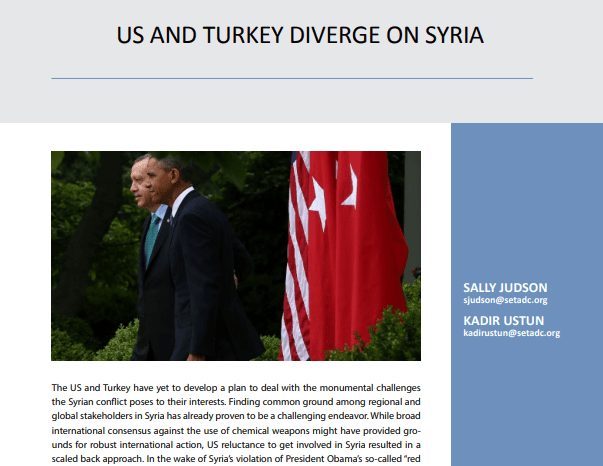 US and Turkey Diverge on Syria