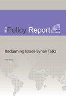 REclaiming Israeli Syrian Talks