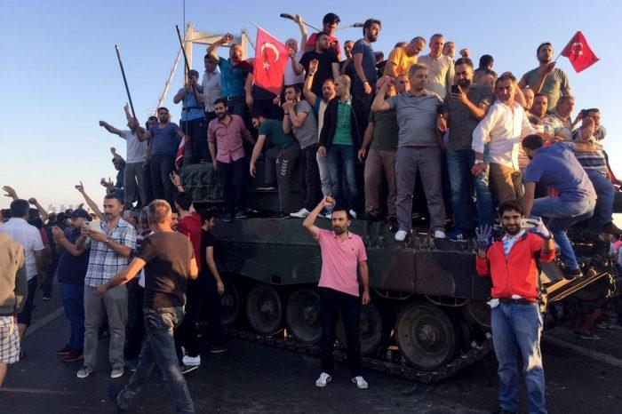 The Turkish people said 'Never Again'