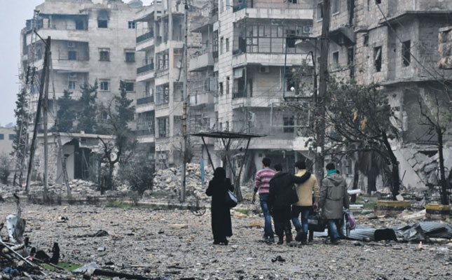 As Aleppo falls, so falls the international system