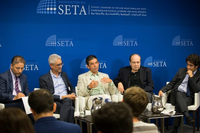"""""""Implications of the Gulf Crisis for the US and the Middle East"""" Panel Event"""