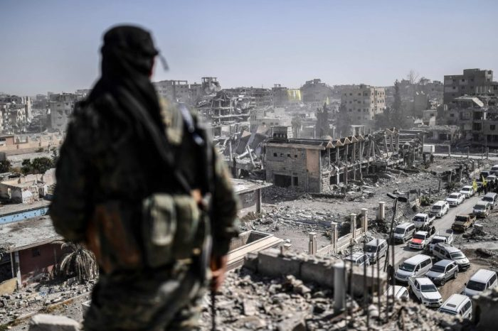 De facto situation in Raqqa confirms need for further offensives