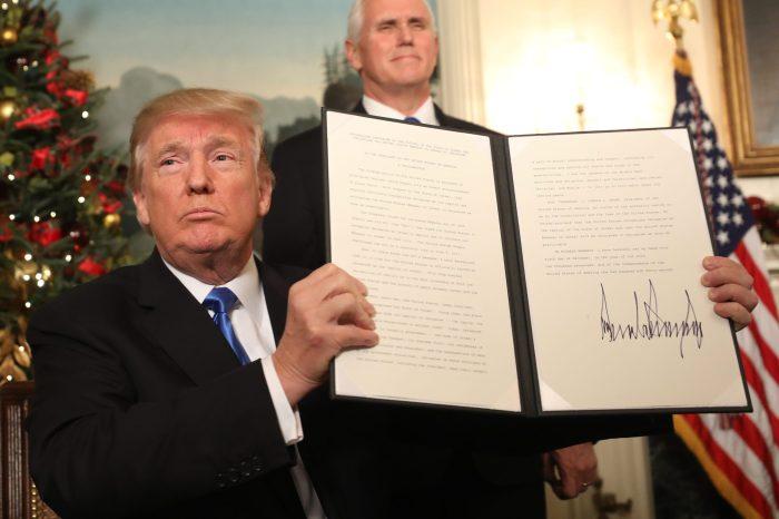 How should we understand US decision on Jerusalem