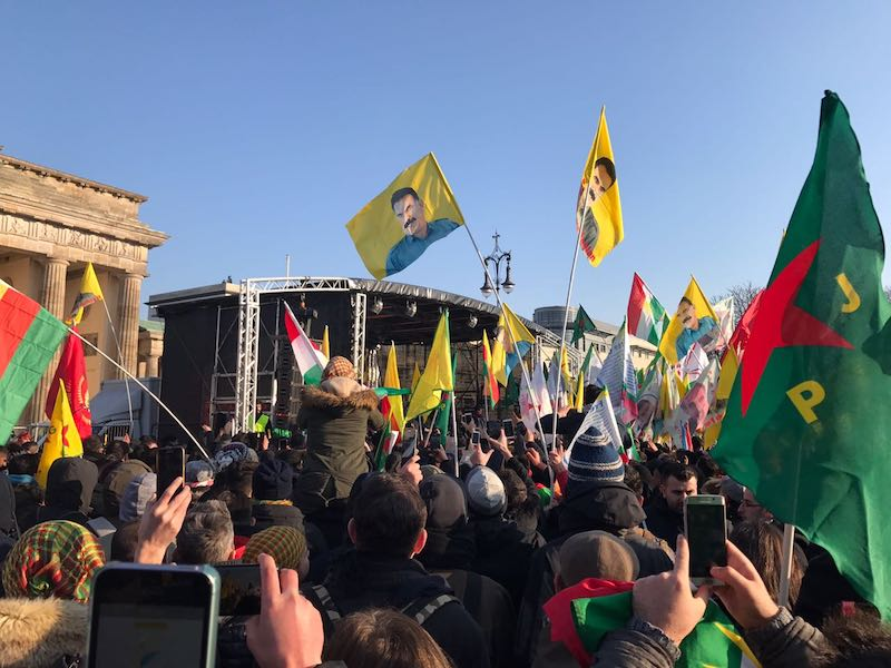 Some Myths about the YPG