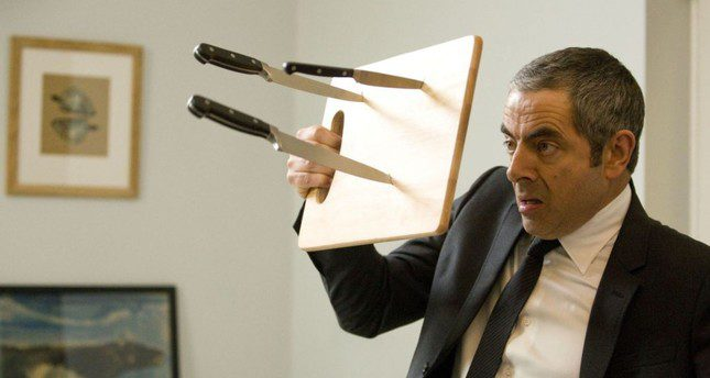 The age of Johnny English in the real world
