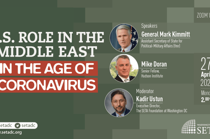 Event Summary: US Role in the Middle East in the Age of Coronavirus