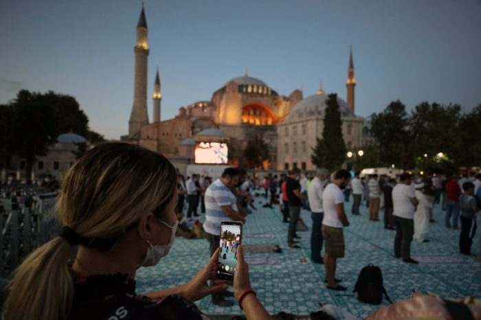 The resurrection of Hagia Sophia
