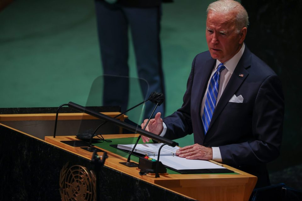 76th session of the UN General Assembly in New York