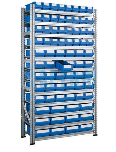 Rayonnage à Tiroir Galvabacs 74 Bacs Tiroirs Multibox