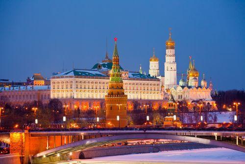 Fotofoto Keindahan Benteng Kremlin di Rusia  Setangkai