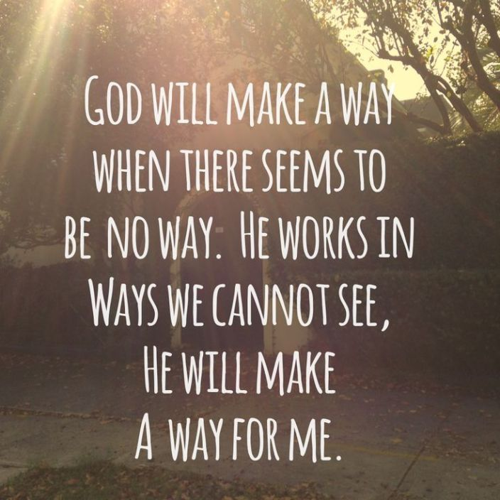 God - the way maker - Set Apart By His Grace