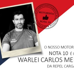 Motorista nota 10 - Warlei Carlos