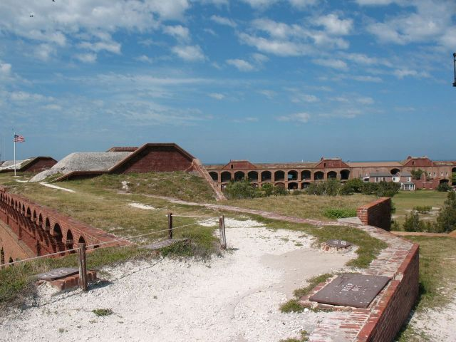 Fort Jefferson wall