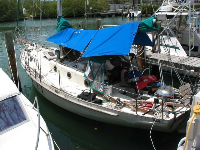 Sirocco after the test sail