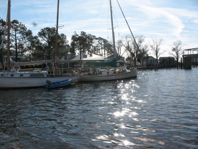 Town dock in Oriental