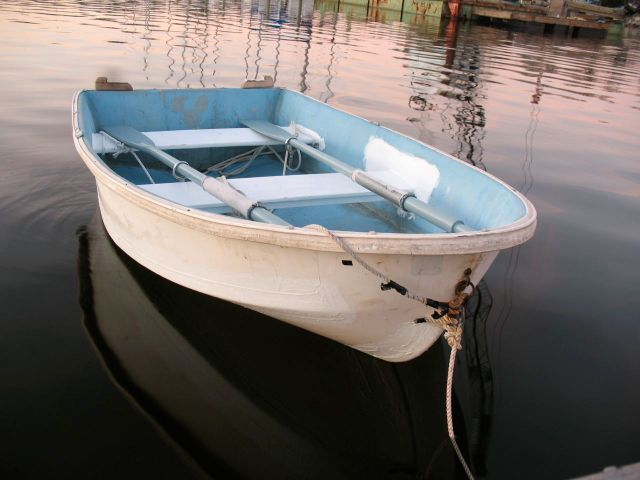 Sirocco's dinghy