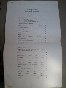 Dreadnought 32 Building Instructions Table of Contents