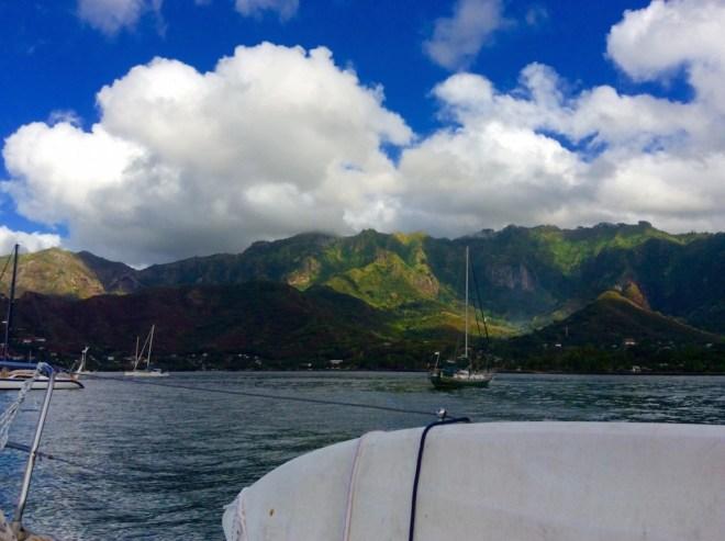 Taiohae Bay, Marquesas