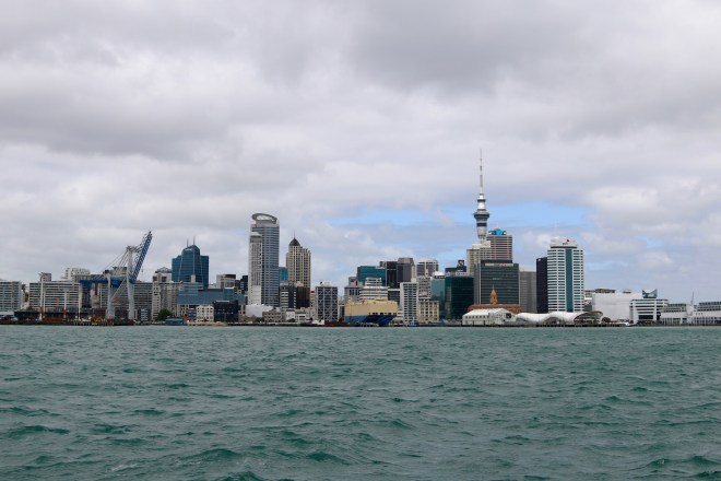 Skyline of Auckland, New Zealand