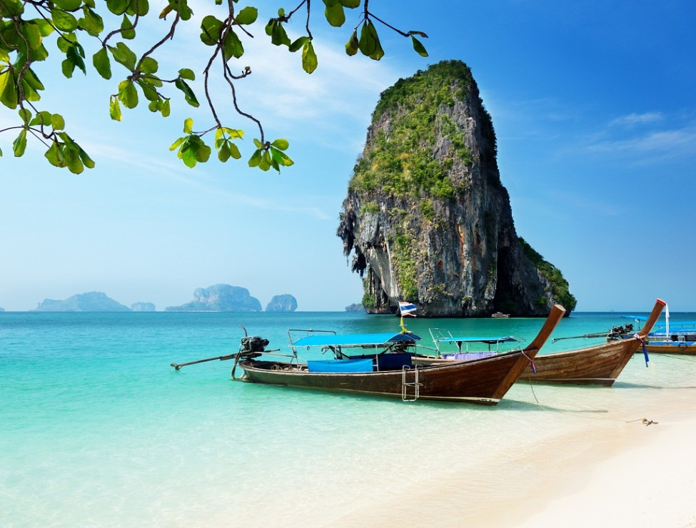 RAILAY WEST BEACH, KRABI TOWN, THAILAND