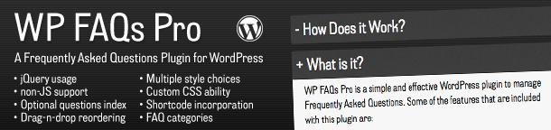 Premium Plugin for Sale: WP FAQs Pro