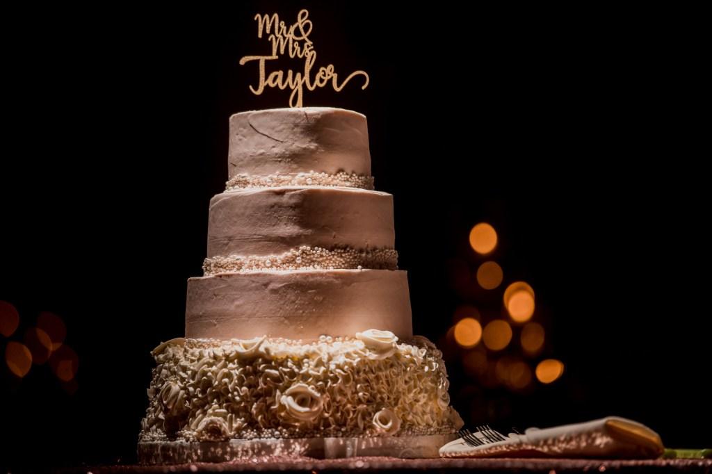 cake at Summer Westin Wedding Columbus