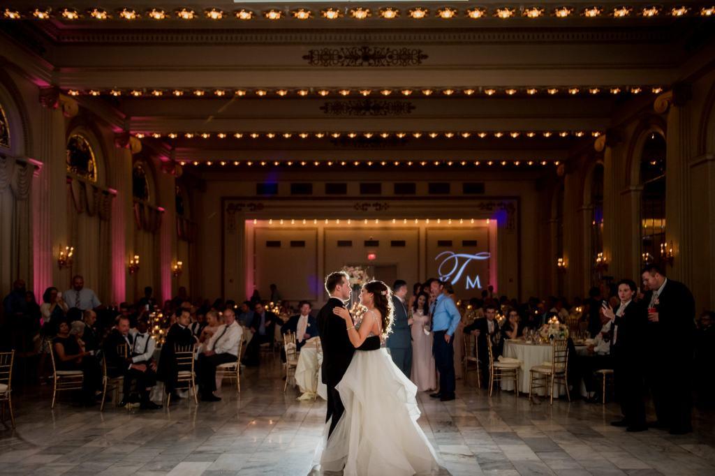 first dance at Summer Westin Wedding Columbus
