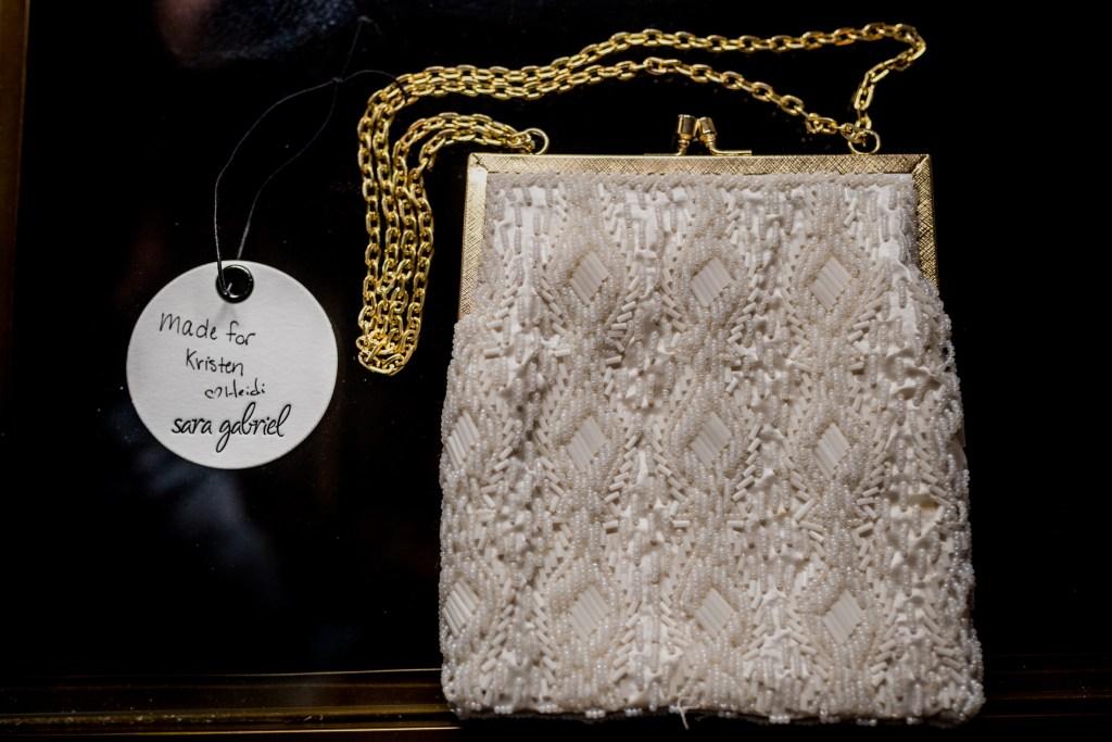 purse from Columbus Ohio Westin Wedding