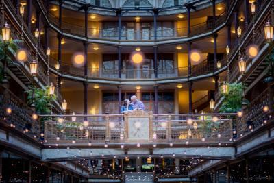 Cleveland Arcade Wedding Venue