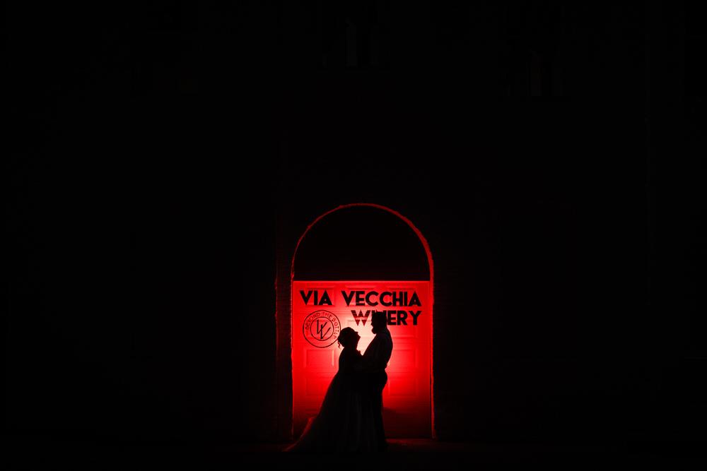 Via Vecchia Winery Wedding Columbus Ohio