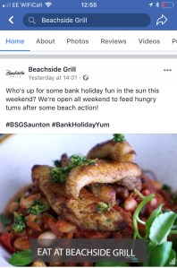 Example of square video on an iphone social media feed