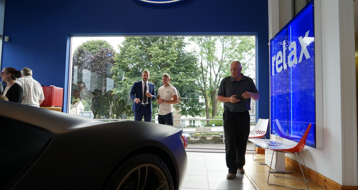 Performance Fod event at Taw Ford in Barnstaple
