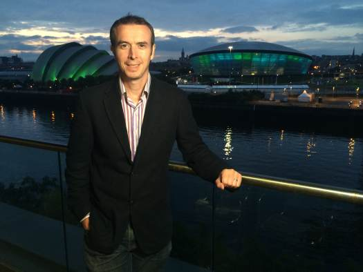 Seth Conway reporting live from the Commonwealth Games in Glasgow
