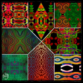 11917 Kaleidoscopic Humanoids