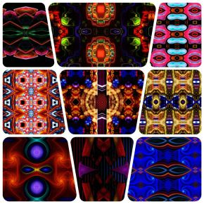 2117 Kaleidoscopic Humanoid Faces