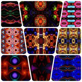 2117 Kaleidoscopic Humanoid Faces