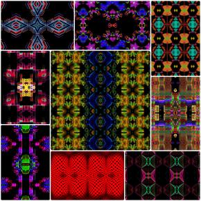 42217 Kaleidoscopic Humanoids
