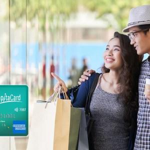 Review: Amex CapitaCard – 1.5% to 9.28% Rebate at CapitaLand Malls