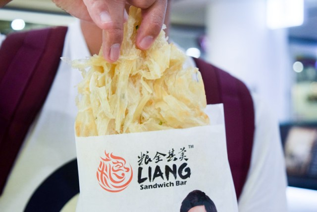 Liang Sandwich 3 Jay Chou Endorsed Liang Sandwich Bar's Flaky Scallion Pancake Is Now Available At VivoCity