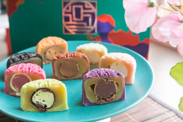 Grand Hyatt Mooncakes 2018 6