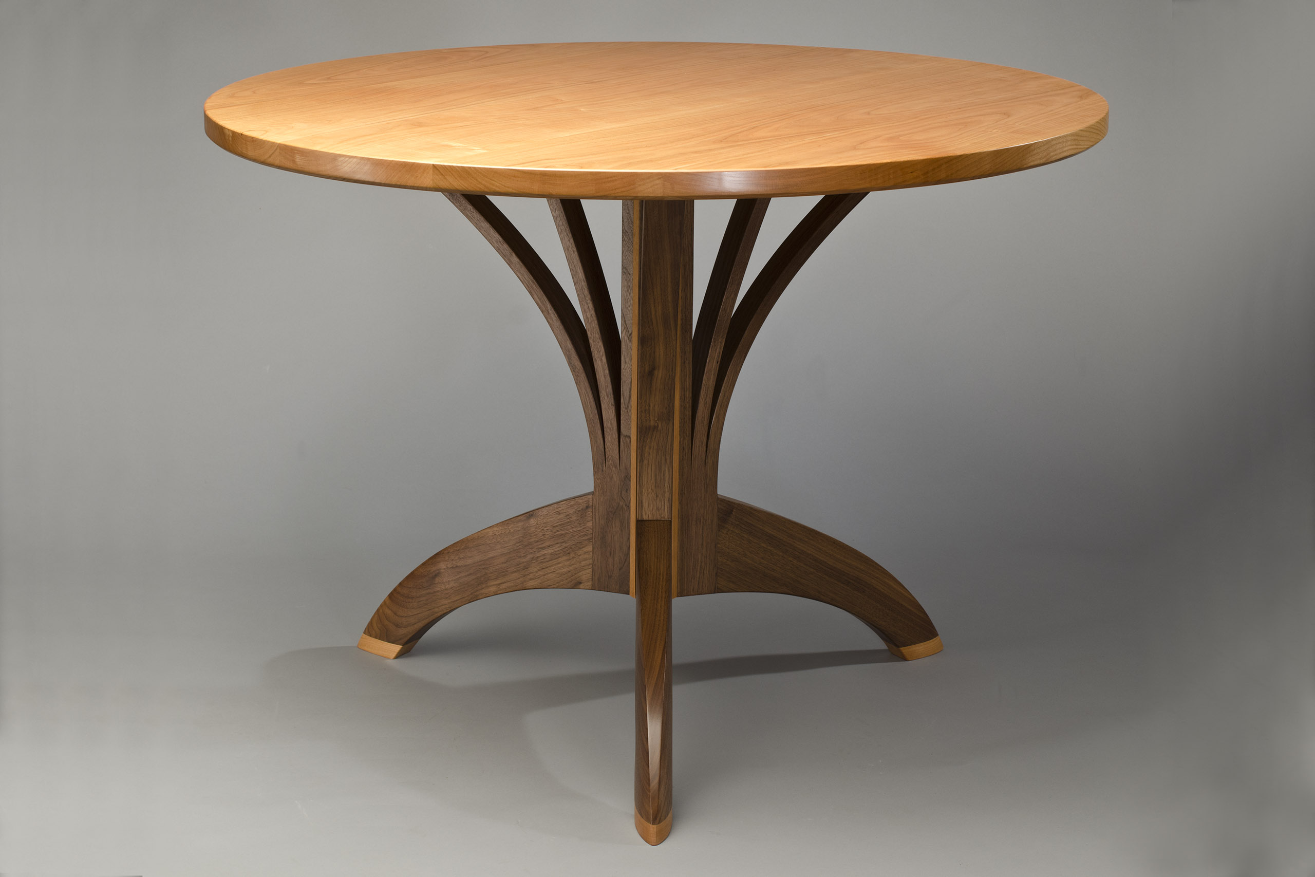 Arbol Caf TableArtisan Hardwood Dining Table  Seth Rolland