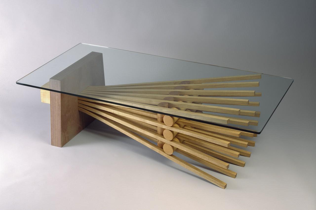 Ash Explosion Coffee Table  Custom Furniture Design