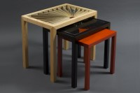Lorraine's Nesting Side Tables   Solid Wood Side Tables ...
