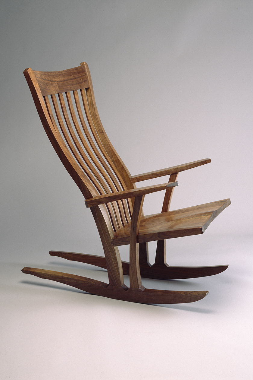 Rocking Chairs Mesa Rocking Chair Custom Built Wood Rocking Chair Seth Rolland